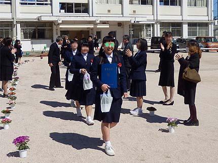 平成30年中学校卒業式22