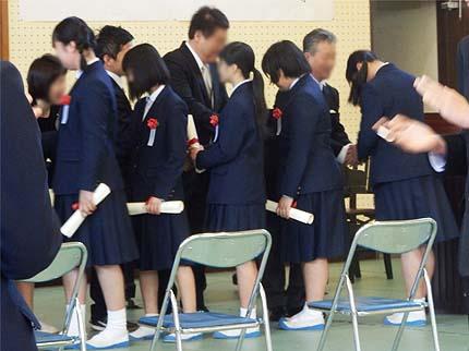平成30年中学校卒業式10