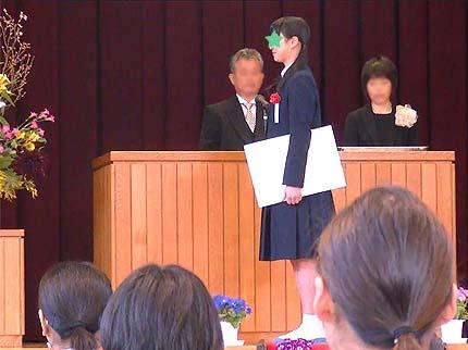 平成30年中学校卒業式7