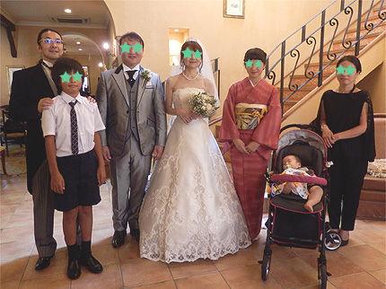 妹の結婚式13