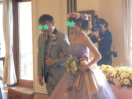 妹の結婚式22