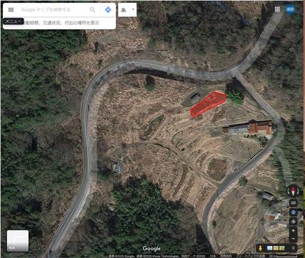 耕した畑40m×7m