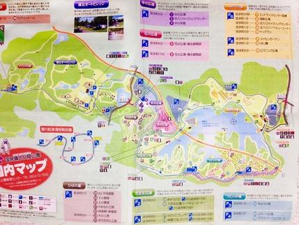 備北園内マップ