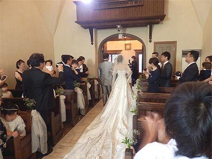 妹の結婚式10