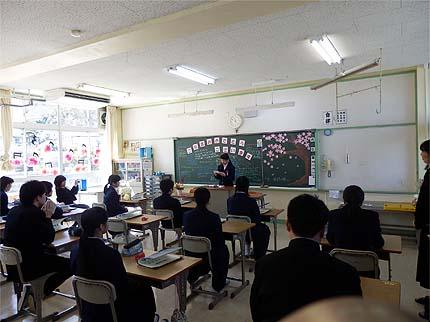 平成30年中学校卒業式14
