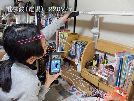 電磁波測定ナイトの部屋3