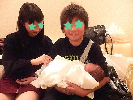 赤ちゃん出産41