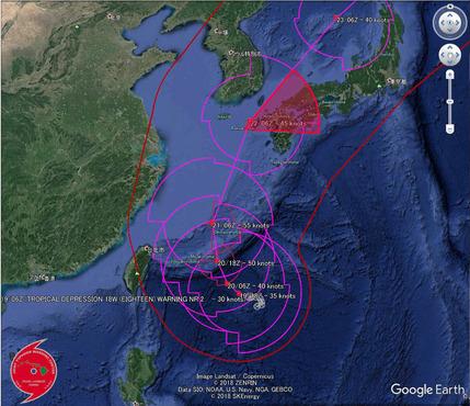 台風17号�
