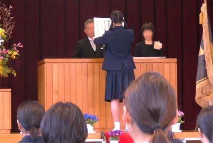 平成30年中学校卒業式6