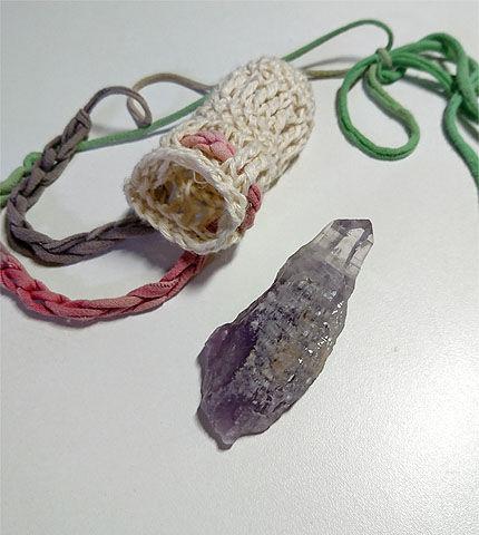 Nさんヘンプ編み2