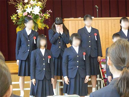 平成30年中学校卒業式8