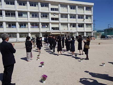 平成30年中学校卒業式21