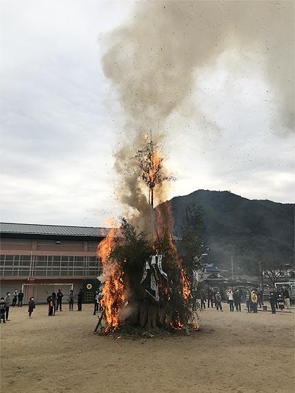 2019年とんど祭り�