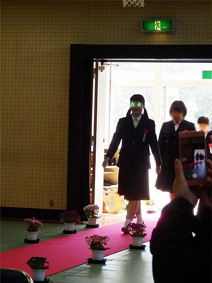 平成30年中学校卒業式5
