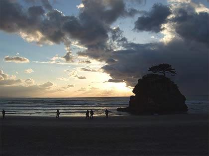 稲佐の浜�