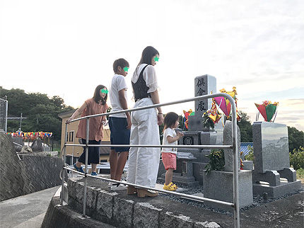 2019_0813お盆のお墓参り1