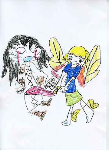 大天使ミカエルと低級霊