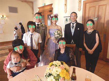 妹の結婚式23
