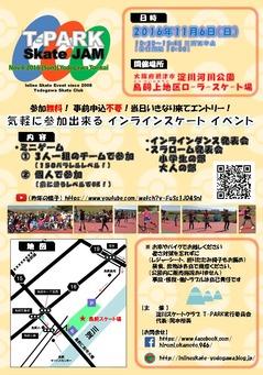 T-Park 2016 チラシ