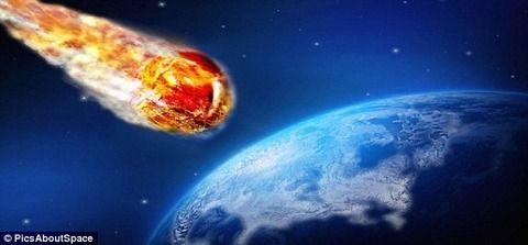 今月31日に2.5kmの巨大小惑星が地球に