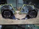バルカン完成・手前リフレクターが後ろの本体ベースに組込まれる