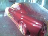 車体塗装完了左