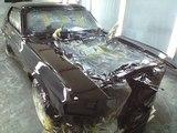 '70マスタング車体塗装完了!