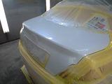 マークX板金塗装後