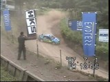 WRCドライバー新井敏弘選手のデモラン
