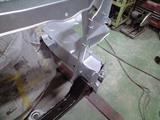 コアサポート交換・塗装完了2
