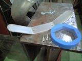 アルミ廃材でハンドル製作&タップ立て