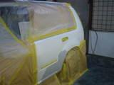 エクストレイル塗装1