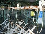 恐ろしい自転車置き場
