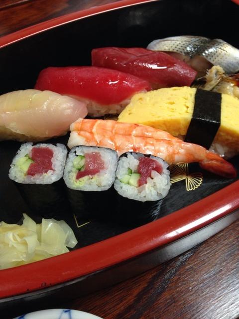 東京に帰って食べたもの