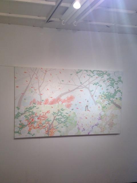 アート見て歩き 山原晶子 個展