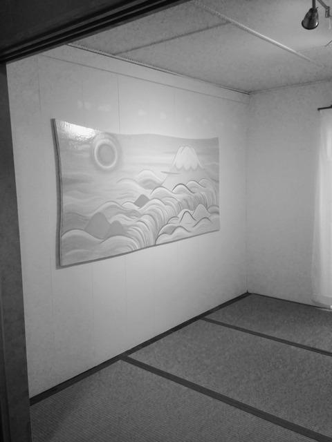 田中加織 個展「月山水ナガルル」
