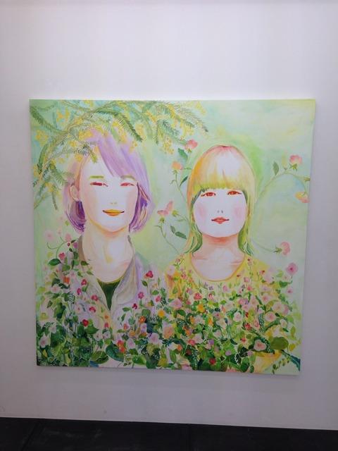 アート見て歩き 児玉 彩 個展