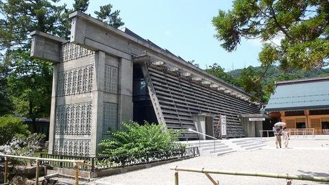 出雲大社庁の舎(菊竹清訓1963)