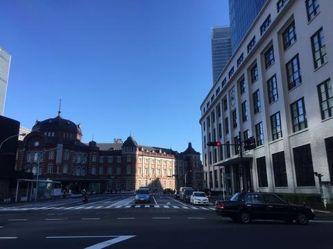 東京駅1914と東京中央郵便局1926