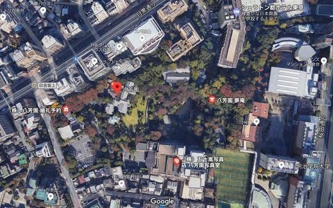 八芳園マップ