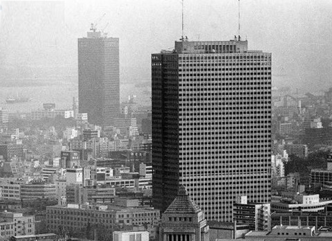 霞が関ビル1968世界貿易センタービル1969