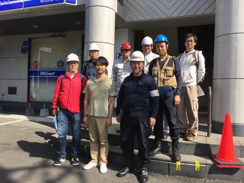 IREM震災建築物応急危険度判定チーム (2)