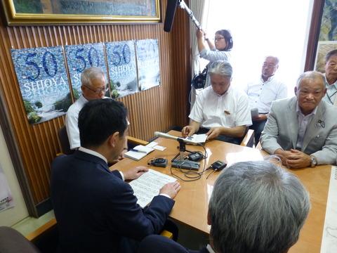 7月30日の写真1(栃木県調査候補地提示)