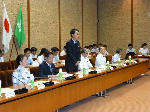 7月31日の写真(栃木県市町村長会議)