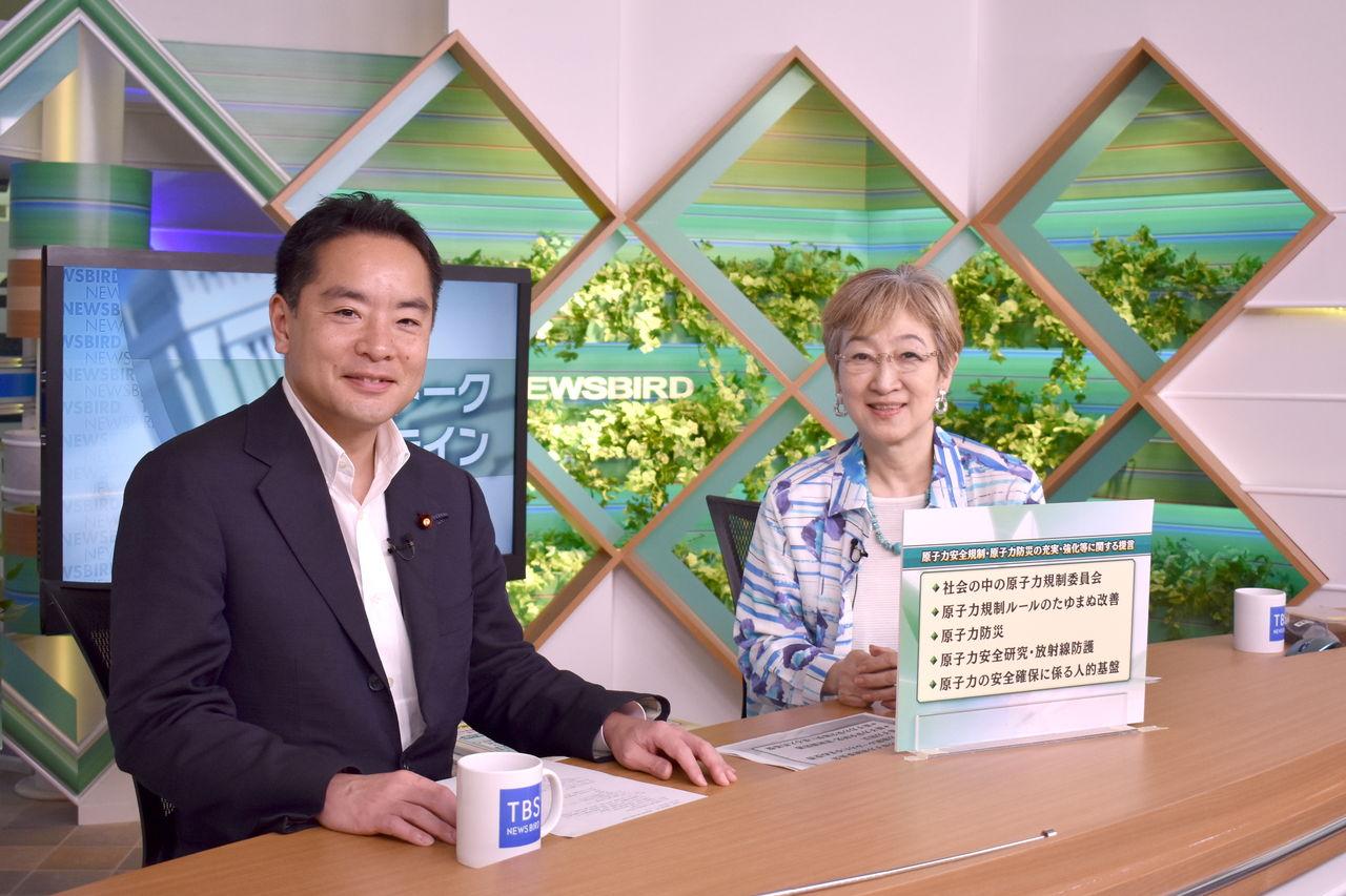 2905 TBS「~国会トーク~フロントライン」に出演 : 衆議院議員 井上 ...