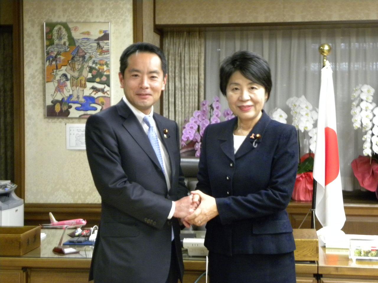 2062 上川陽子法務大臣と : 衆議院議員 井上信治の活動報告