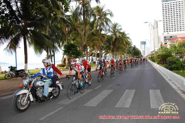 Giải đua xe đạp thể thao nghiệp dư tỉnh Khanh Hoa mở rộng 2014