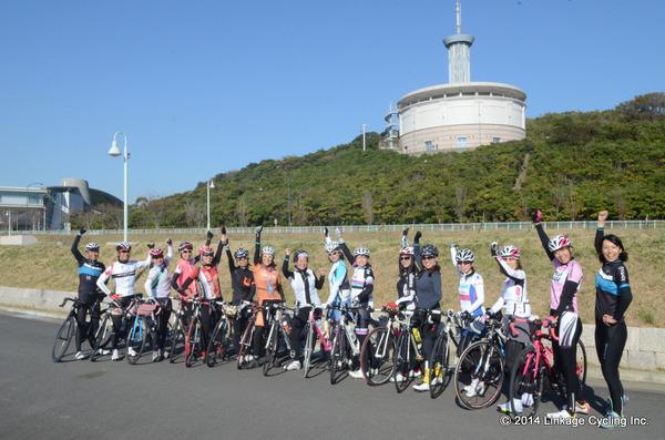 貸切サイクリング 秘密の自転車女子部×LINKAGECYCLING 峠講習会