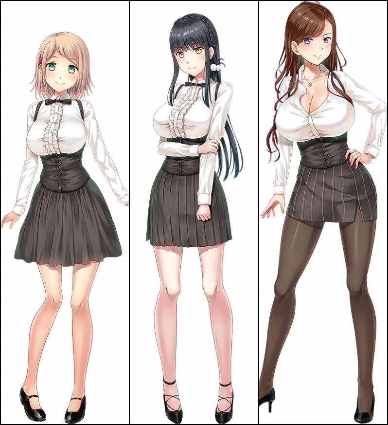 巨乳三姉妹、ファミレス『キュートレア』、過激な経営復興計画、ドタバタHラブコメディ☆evoLL最新作「Hではじめるストラテジー!」