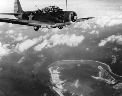 TBD_VT-6_over_Wake_Island_1942